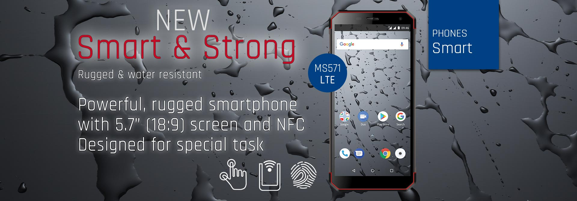 Nuovo Smart & Strong MS571 LTE